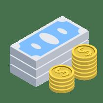 Newtrex Money Icon Isometric
